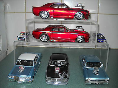 """1:24 Double """"Stacker"""" Diecast display stand"""