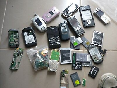 Scrap Gold, mobile phones, Sim cards, gold covered chips etc