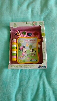 disney baby minnie mouse talking book