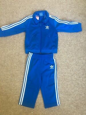 Adidas baby boys tracksuit age 9-12 months brand new
