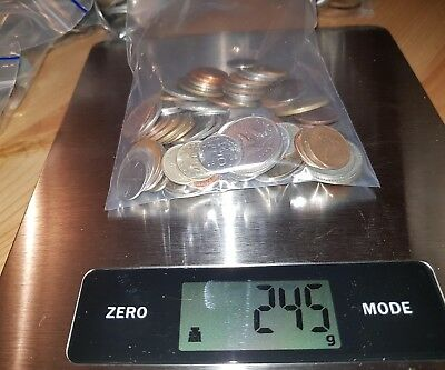 World Coins bulk 245g