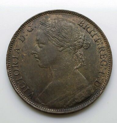 1887 UK One Penny (Great Britain) - Victoria 2nd portrait