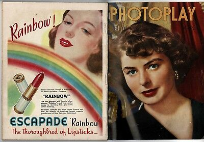 Photoplay Monthly August 1947 1/- Australian