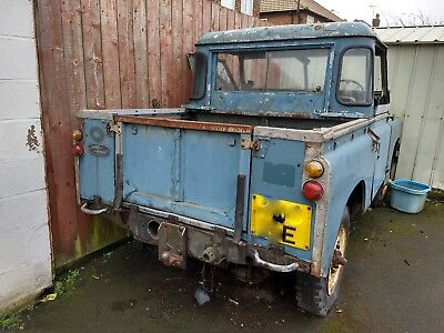 """Land Rover Series 2a 88"""" registered 1967 Truck Cab  Tax as a Classic.. Free"""