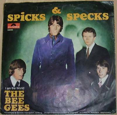"7""    The Bee Gees / Spicks & Specks"