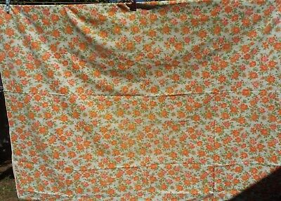 Vintage Retro Single Bed Sheet~~Fabric~ Material