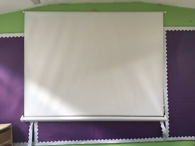 New Boxed Large Projector Screen