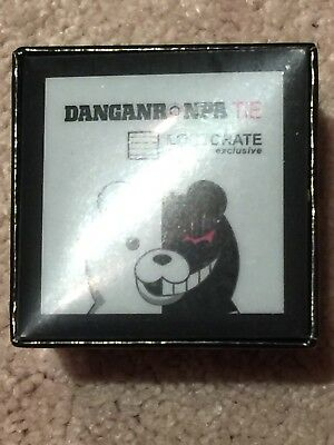 Danganronpa Tie!! Loot Crate Anime EXCLUSIVE NEW! Super Rare - Ships Fast!