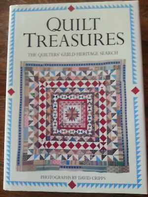 Buch: Quilt Treasures , The Quilters` Guild Heritage Search