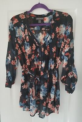 A Pea in The Pod Maternity Blouse Size L Pregnancy Blouse, Large