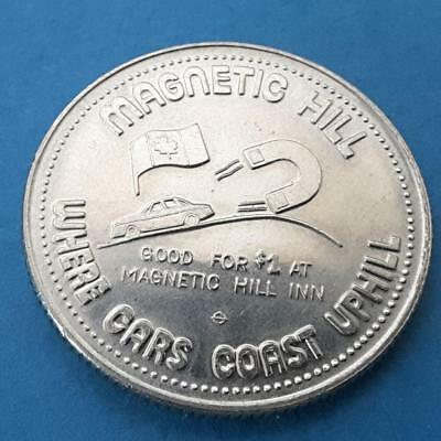 MAGNETIC HILL INN, Magnetic Hill, New Brunswick ~ 1982 Merchant Trade Dollar