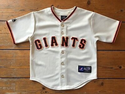 Child's San Francisco Giants Baseball Top/Jersey MLB Majestic - Medium (5-6yrs)