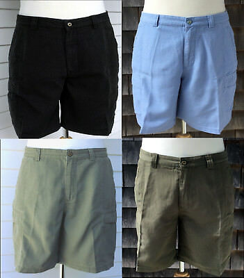 Tommy Bahama Men's Relaxed Fit Key Grip Shorts Coal Moss Lt Camo Cabo Blue NWT