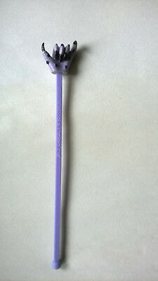 Jack Daniels Wyooter Hooter Swizzle Stick Drink Stirrer Purple Claw Hand Rare