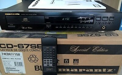 Lecteur CD Marantz Compact Disc Player Special Edition CD-67SE