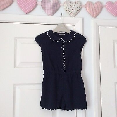 💕Girls Next Navy Playsuit - Age 4 Years - Extremely Cute Excellent Condition 💕