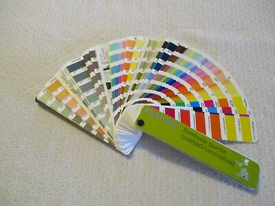 Pantone Formula Guide Coated/Uncoated - First Edition 2000-2001 - 1,114 Colors