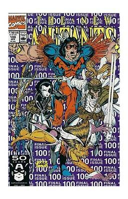 The New Mutants #100 (Apr 1991, Marvel)