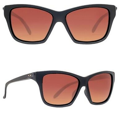 NEW Oakley Hold On sunglasses Black Brown Gradient Polarized oo9298-01 womens