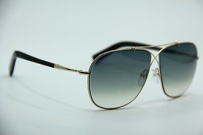 1633a6f28971 New Tom Ford Tf 393 28P April Gold Gradient Authentic Sunglasses W case 61-