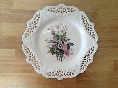 Royal Creamware Limited Edition Collectors Plate The Floral Gift - Wild Roses