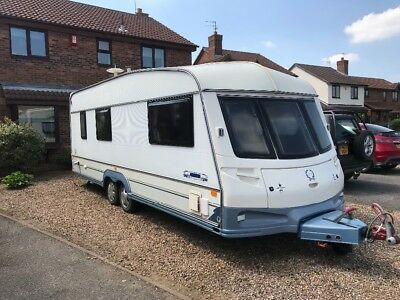 ABI North Star award 4 birth caravan + awning and extras