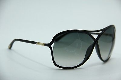 New Tom Ford Tf 184 01B Vicky Black Gradient Authentic Sunglasses W/case 65-10