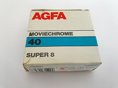 Agfa Moviechrome 40 Super 8 film - exp 1991 - unopened NEW