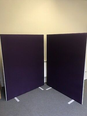 2 Partition screen office trade stand  feature wall at party / wedding