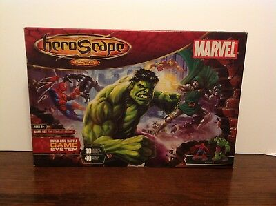 Marvel Heroscape Master Set THE CONFLICT BEGINS complete with package