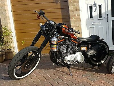 Harley Davidson Sportster 1250 Stage 5 with Holley NOS Nitrous - Bobber Custom