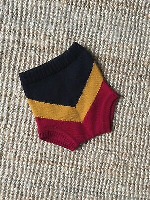 Wolf & Rita knitted chevron shorts culotte Age 4. Worn once