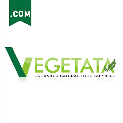 Vegetata.com Super Premium Brandable VEGAN Web Domain Name & Free editable Logo