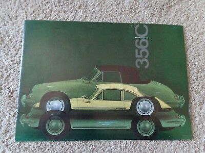 1965 Porsche 356 C Sales Brochure GERMAN Owners Manual Dealer Book Good Con 356C