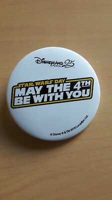 Badge Epingle Star War May The 4Th Be With You Exclusivite Disney