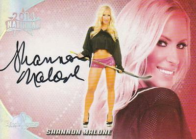 Shannon Malone Autogramm Benchwarmer National 2014