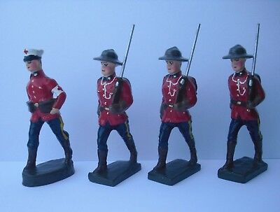 Lineol,Mountie,RCMP,sehr selten,1:24,1:25