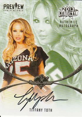 Tiffany Toth Autogramm Benchwarmer National Preview 2013