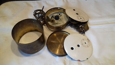 vintage/antique French clock movement & parts spares or repairs