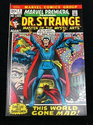 Marvel Premiere # 3 - Dr. Strange Barry Windsor-Smith cover & art UNREAD! NM-