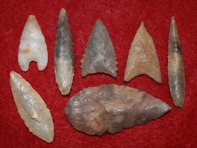 7 better, diverse Sahara Neolithic points/tools