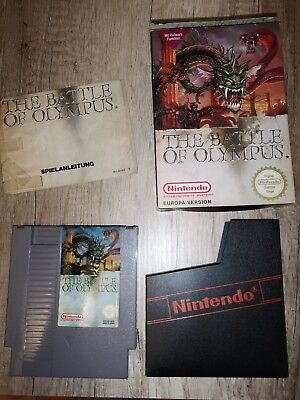 THE BATTLE OF OLYMPUS Nintendo NES