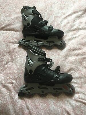 no fear roller blades, size 9