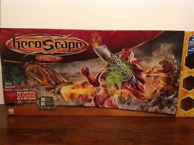HeroScape Master Set #1 Rise of the Valkyrie Complete in box Elite Onyx Vipers