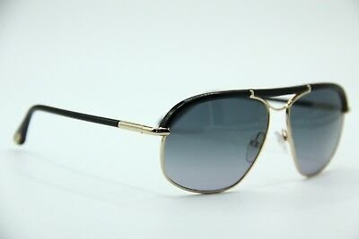 New Tom Ford Tf 234 28B Russell Gold Gradient Authentic Sunglasses W case  59- db363c601ce5