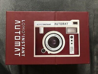 New in Box - Lomography Lomo'Instant Automat - Maroon - Polaroid - W. Film!