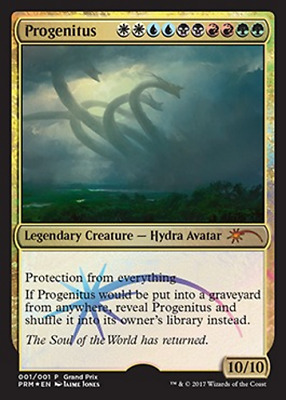 1x FOIL PROGENITUS - Rare - GP PROMO - MTG - NM - Magic the Gathering