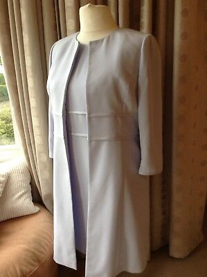 Lovely, Viyella, Pale Blue, Mother Of The Bride/Occasion Outfit, Size 14.