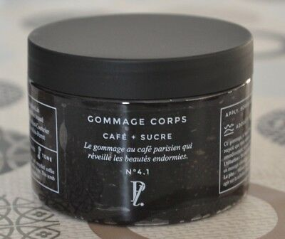 Gommage Corps Cafe + Sucre - Prescription Lab -Neuf