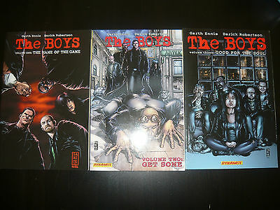 Dynamite Comic: The Boys NO 1 2 3 (2007/2008) Englisch (Ennis / Robertson)